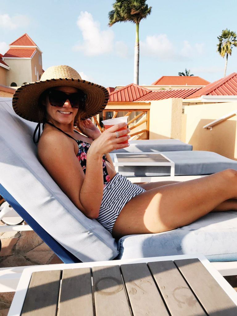 hotel-view at little divi st Maarten