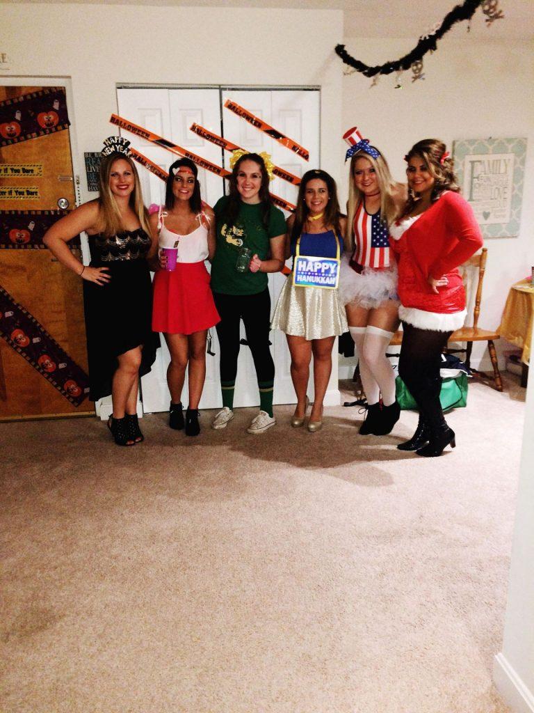 the holidays diy halloween costume