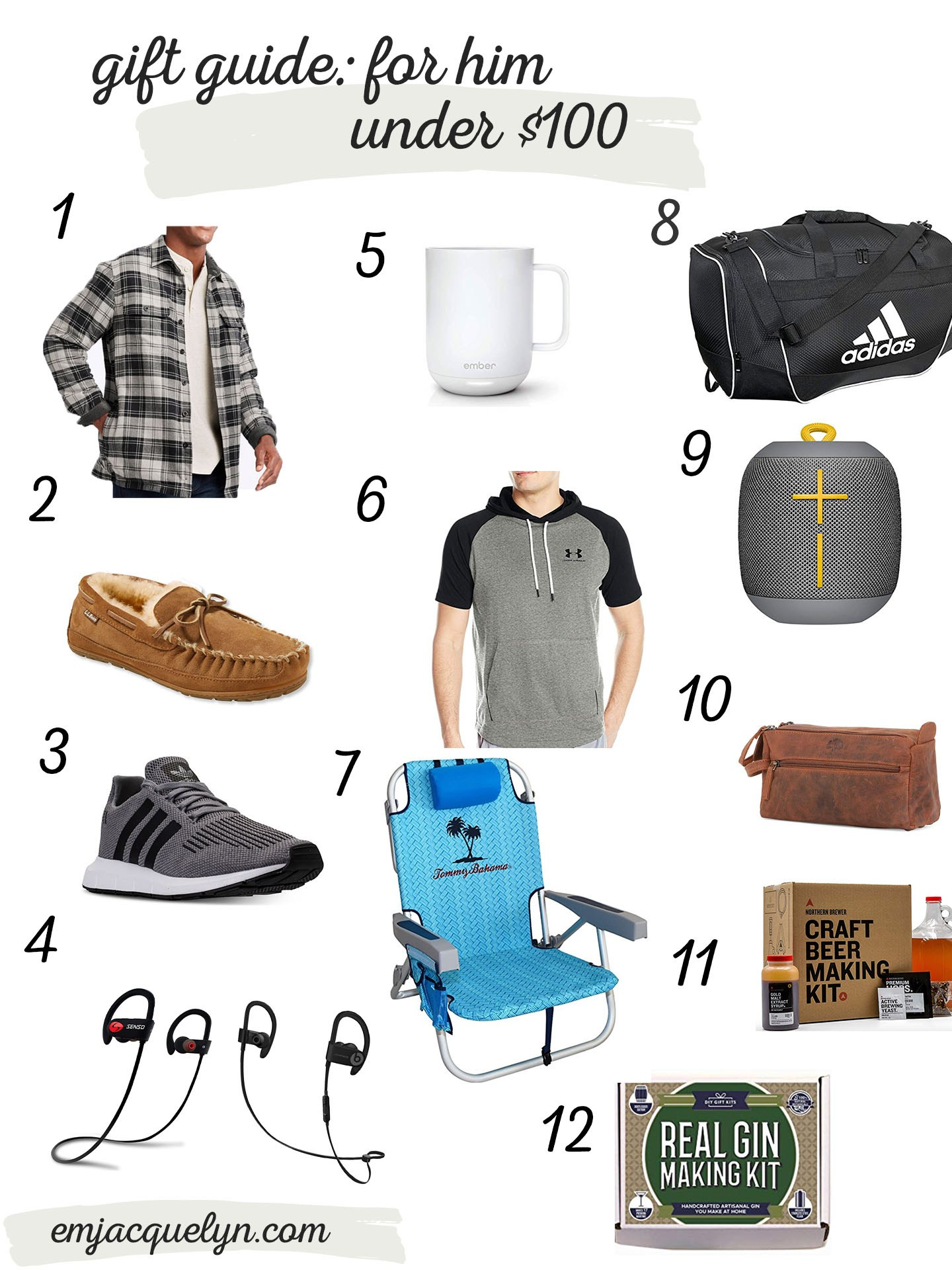 gift ideas for him under $100