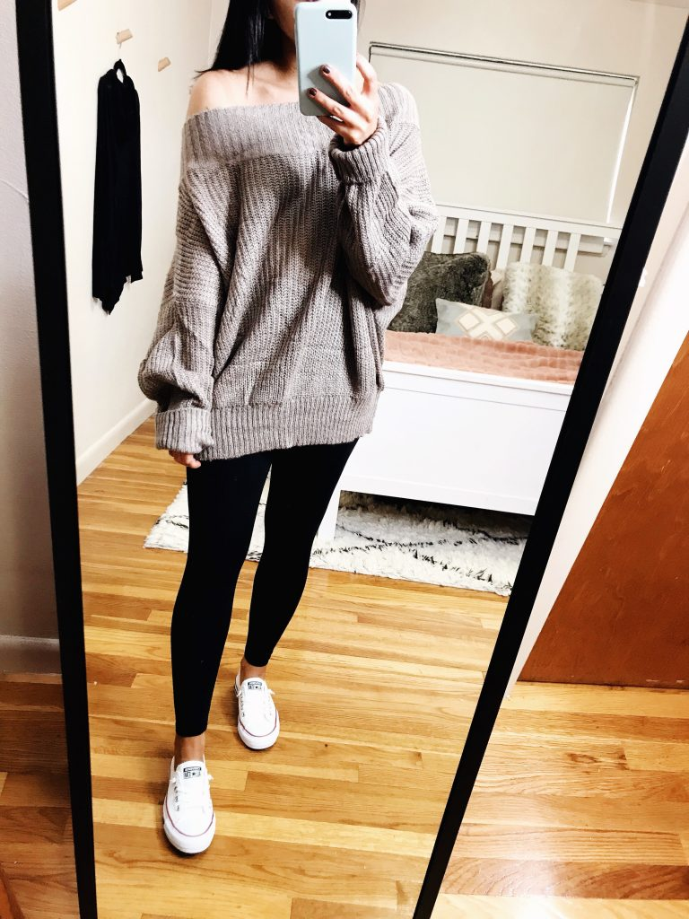 casual outfits - oversized amazon prime find