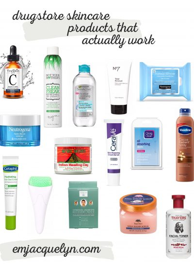 Drugstore Skincare Products that Actually Work
