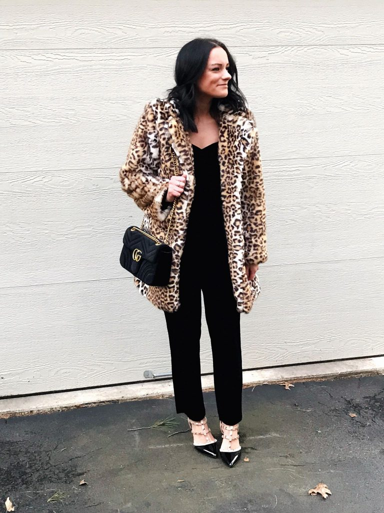 leopard coat amazon prime