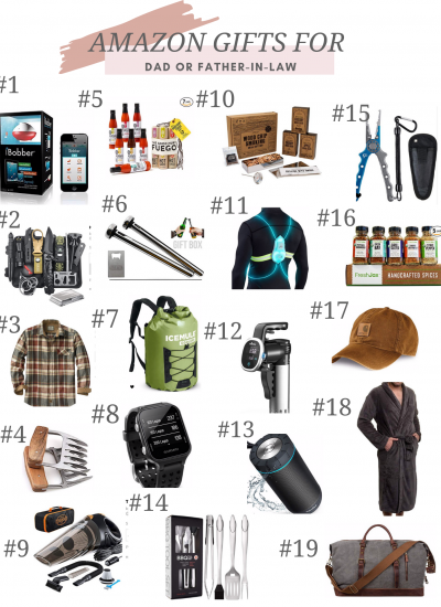 Amazon Gifts for Dad or Father In Law