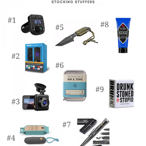 amazon gifts for him – stocking stuffers