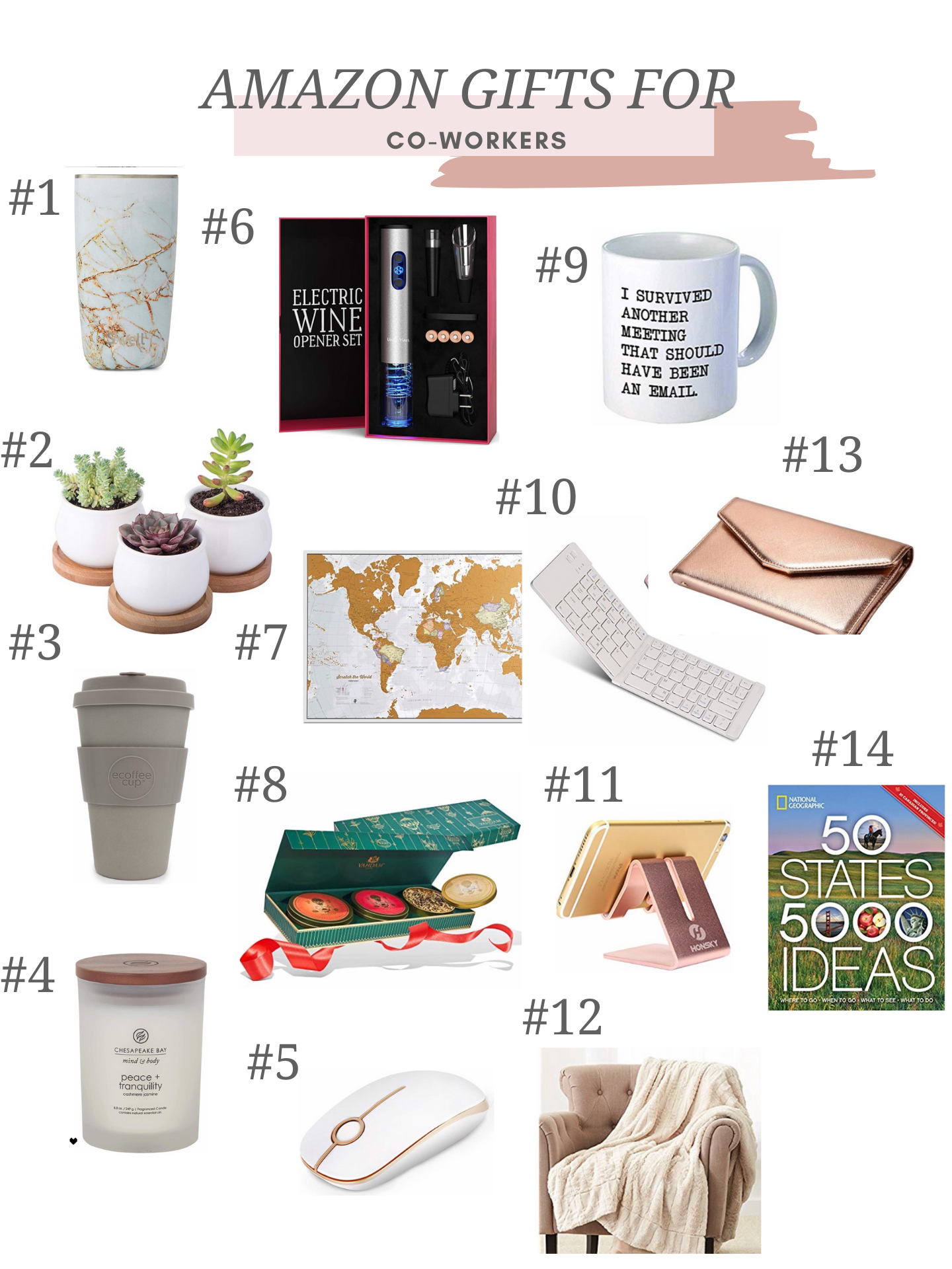 amazon gifts for co-workers