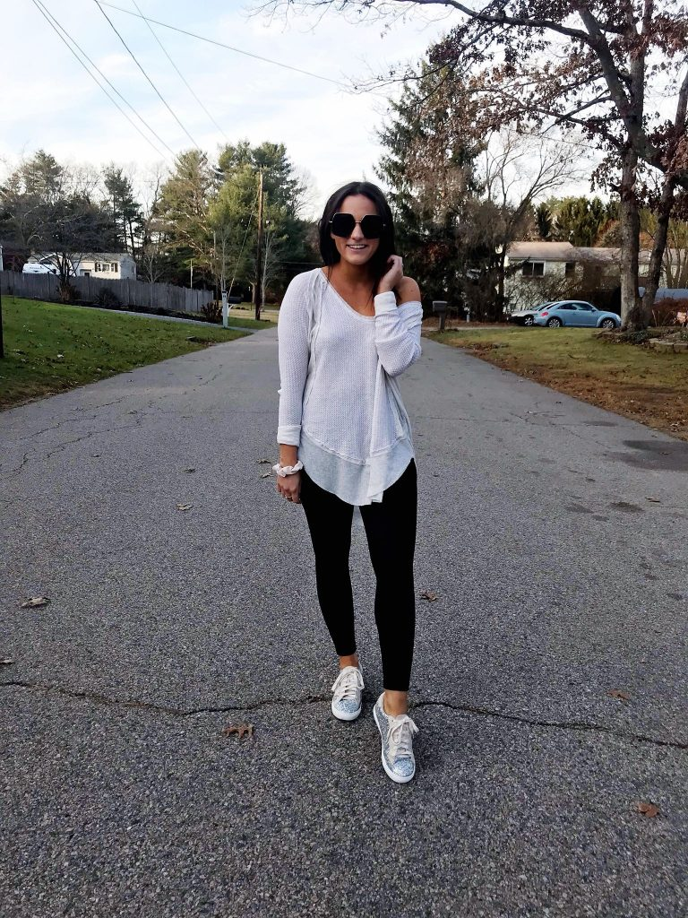 golden goose sneakers from amazon leggings outfit