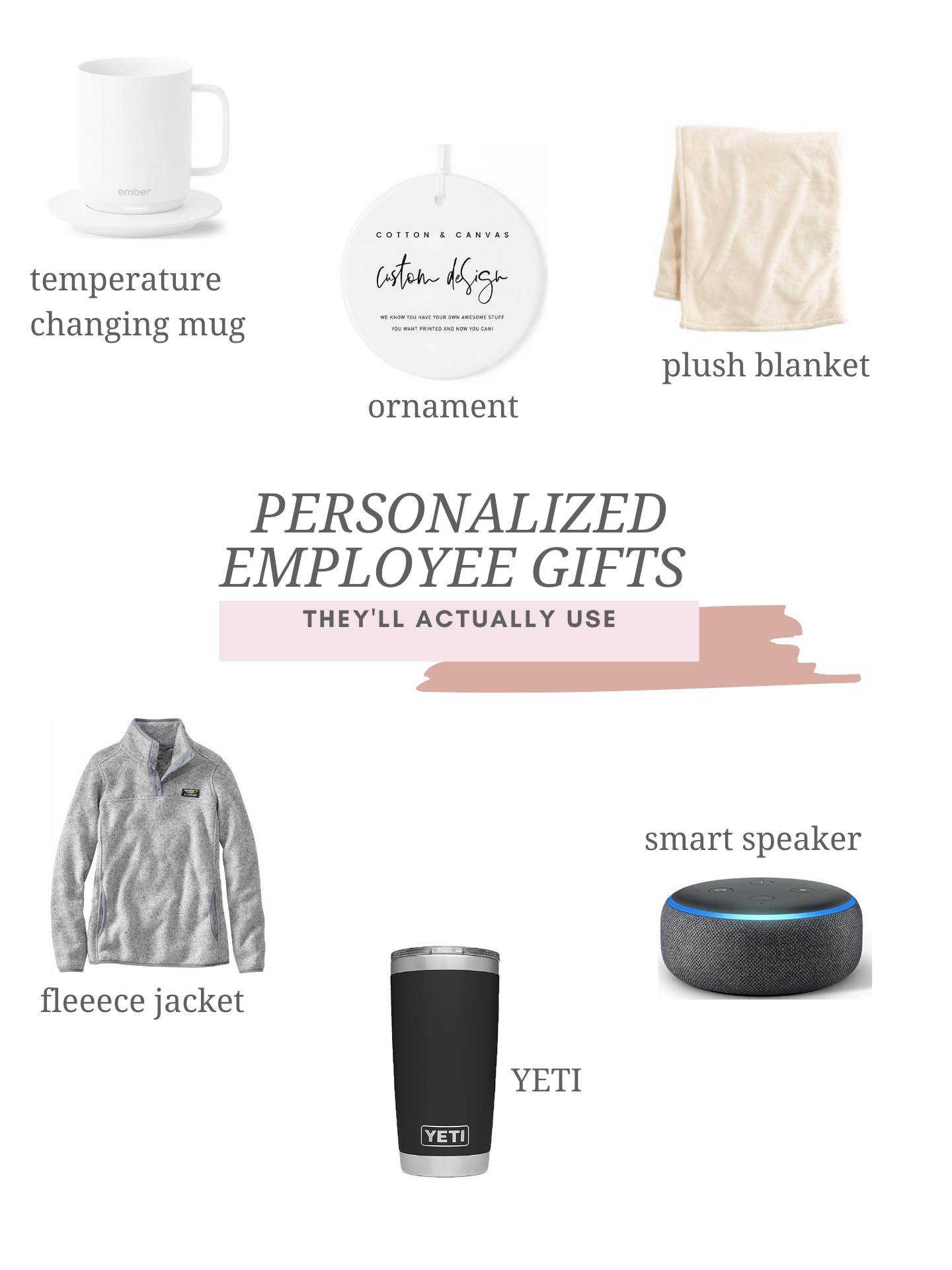 6 personalized employee gifts they'll actually use