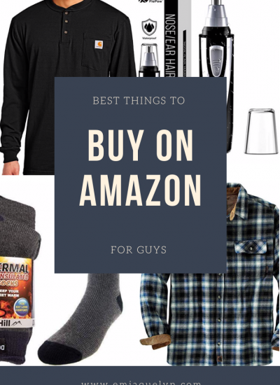 Best things to buy on amazon for guys