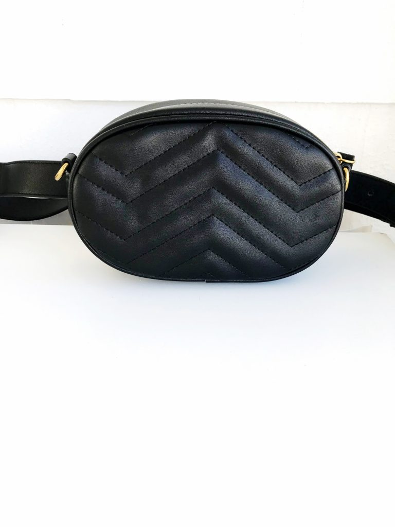 black quilted fanny pack designer inspired lookalikes from amazon