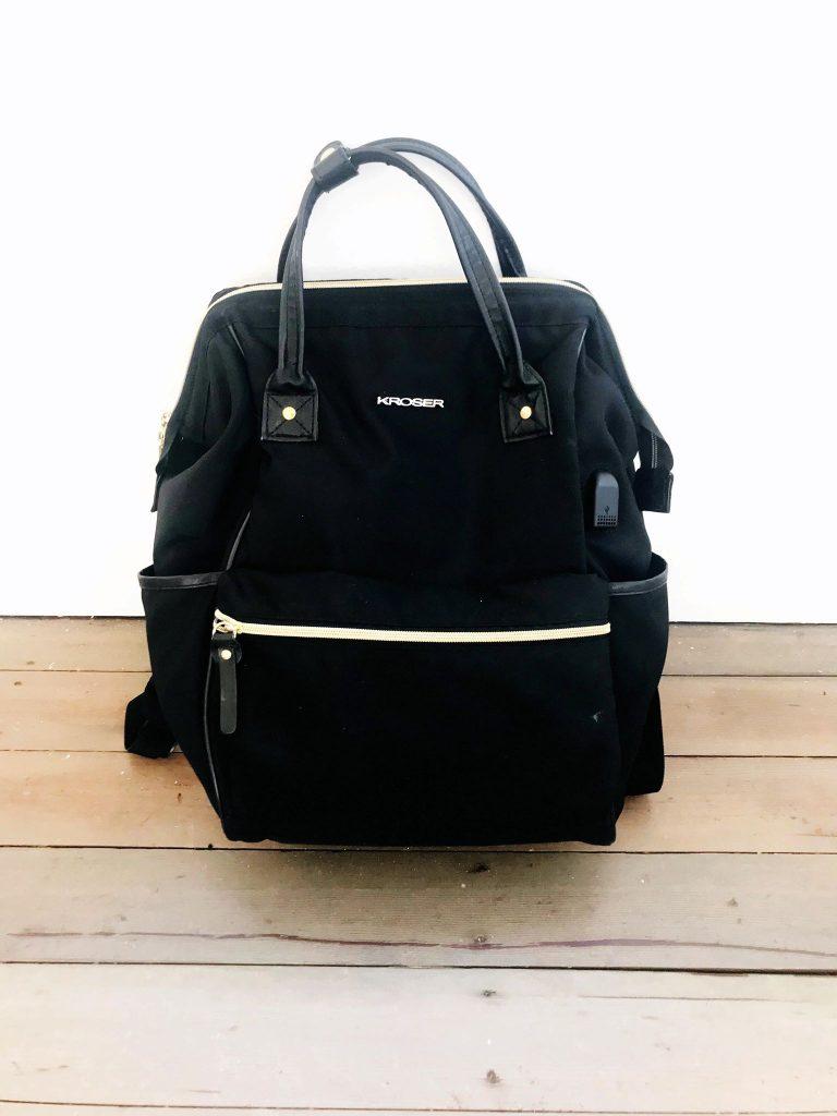 black nylon designer inspired lookalikes bag from amazon