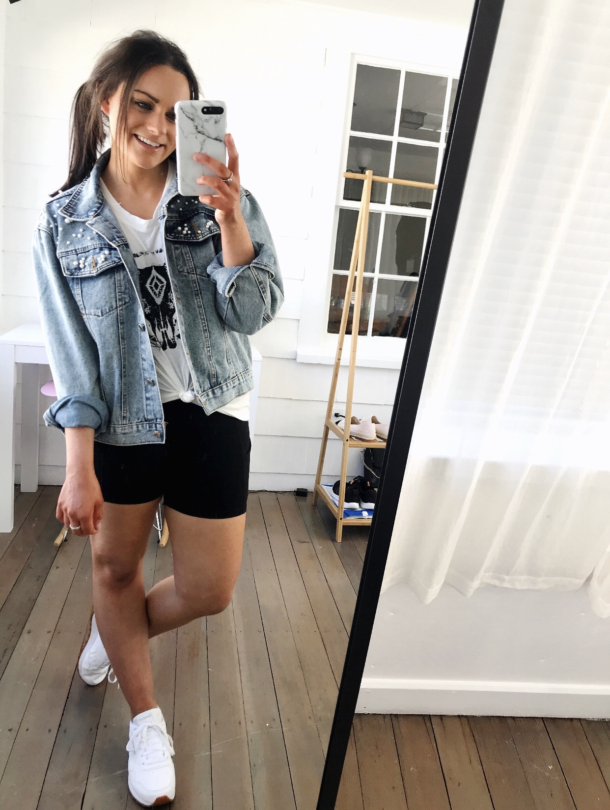 6 Ways To Style Biker Shorts Emjacquelyn