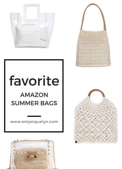 Favorite Amazon summer bags
