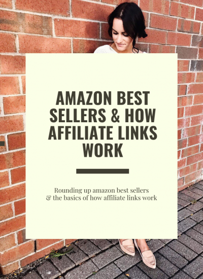 Amazon Best Sellers and How Affiliate Links Work