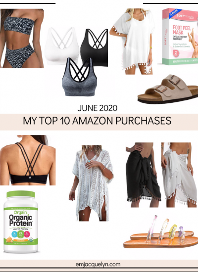 Top 10 Amazon Purchases in June