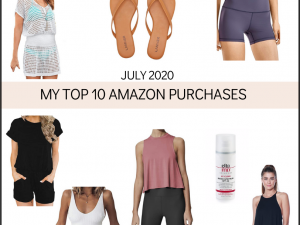 top 10 amazon purchases July