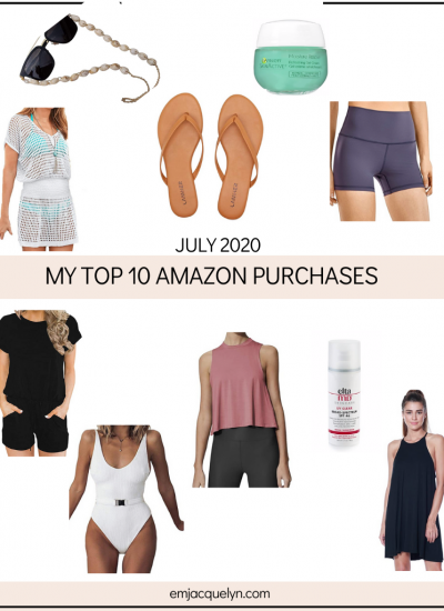 Top 10 Amazon Buys from July