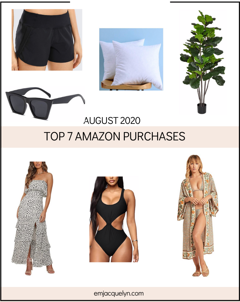 Amazon Must have purchases from August