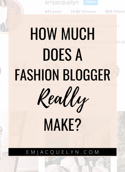 How Much Does a Fashion Blogger Make?