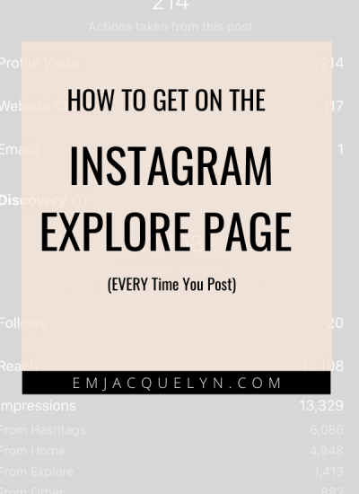 How to Get On The Instagram Explore Page