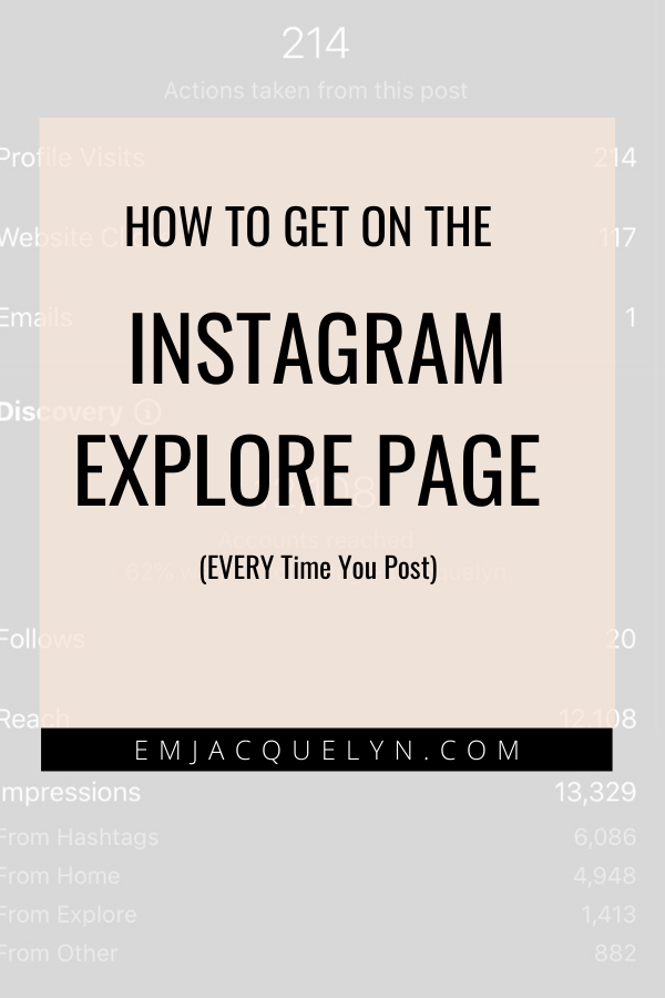 how to get on instagram explore page fashion bloggers
