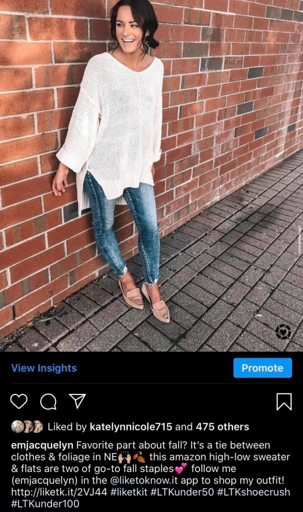 liketoknowit hashtags