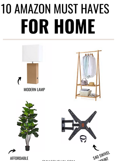 10 Amazon Must Haves for Home