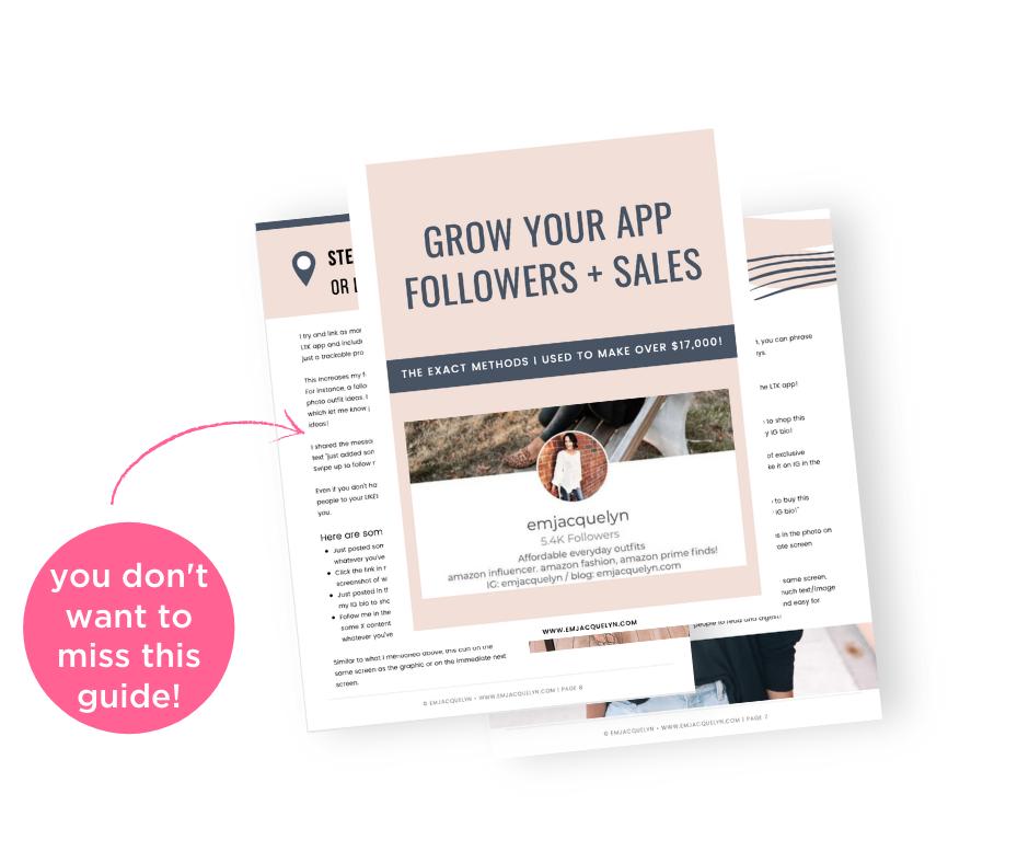Grow your LTK app sales