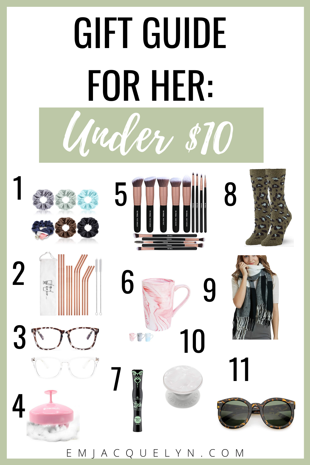 gifts for her under 10