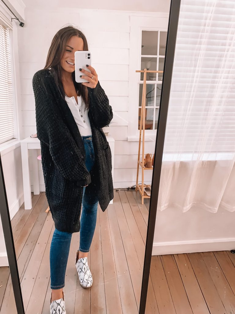 snakeskin booties with jeans outfit amazon casual fall outfits