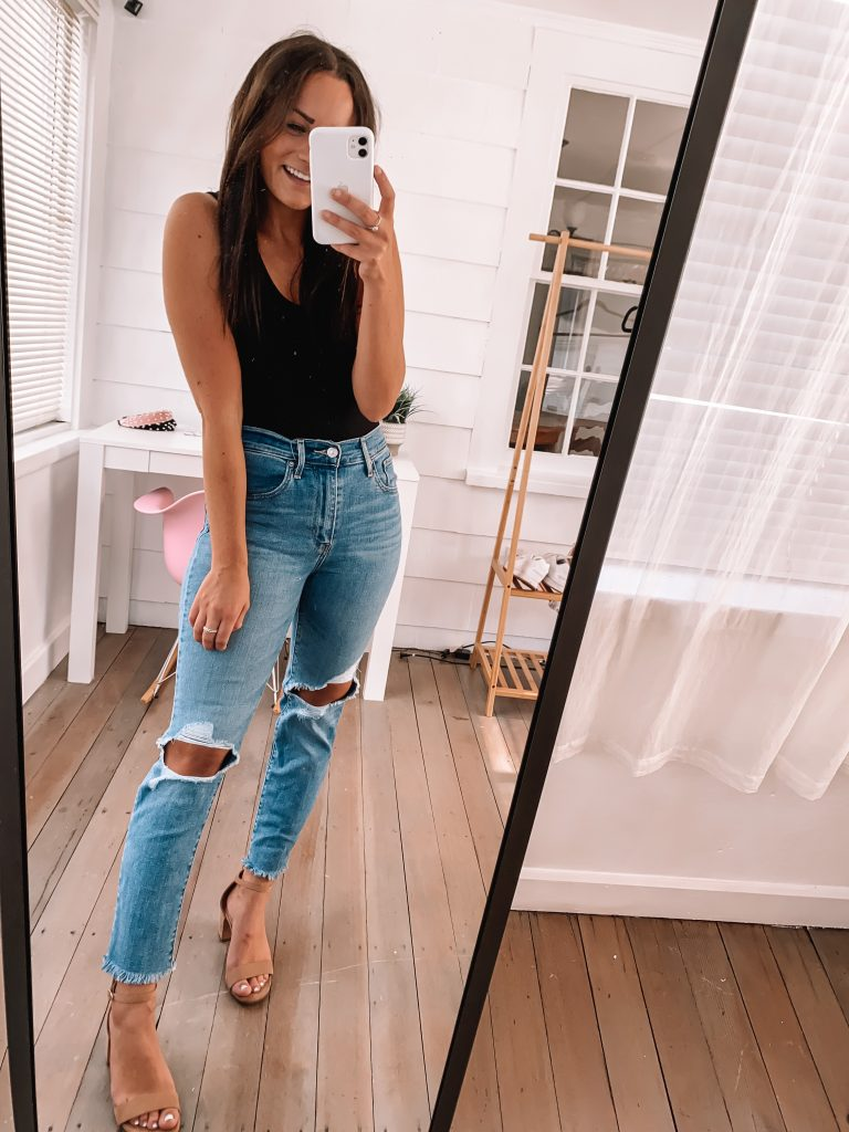 casual cute fall date night outfit