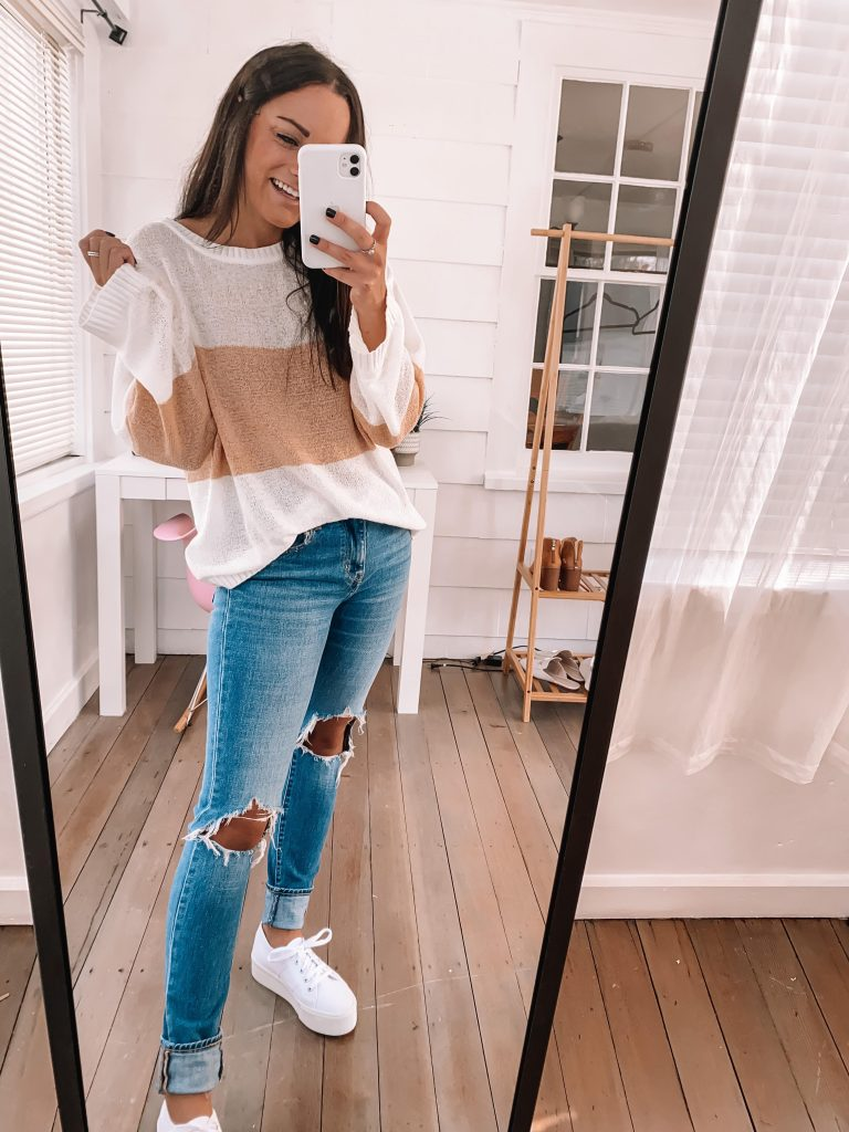 amazon jeans outfit for fall