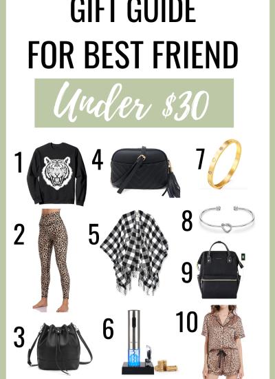 Amazon Best Friends Gifts Under $30