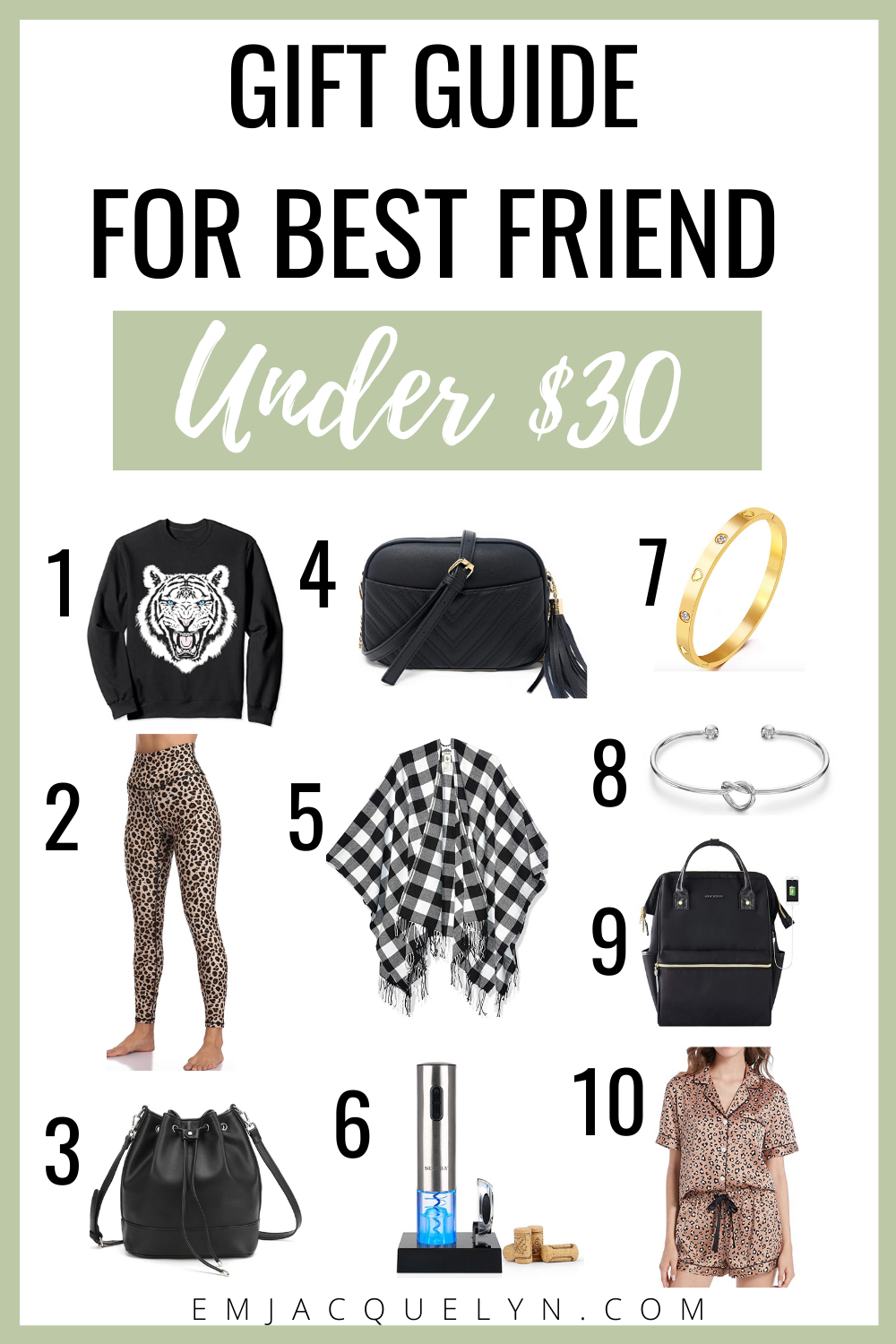 best friends gift for her under 30