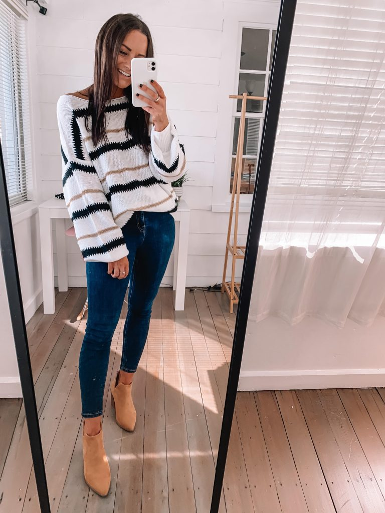 Cute thanksgiving outfits sweater from amazon