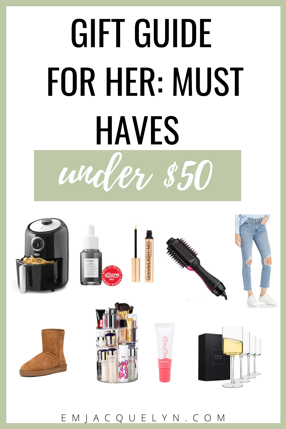 amazon gifts for her under $50