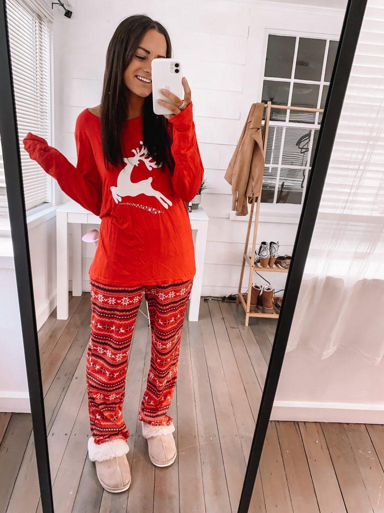 comfy amazon pajamas for Christmas