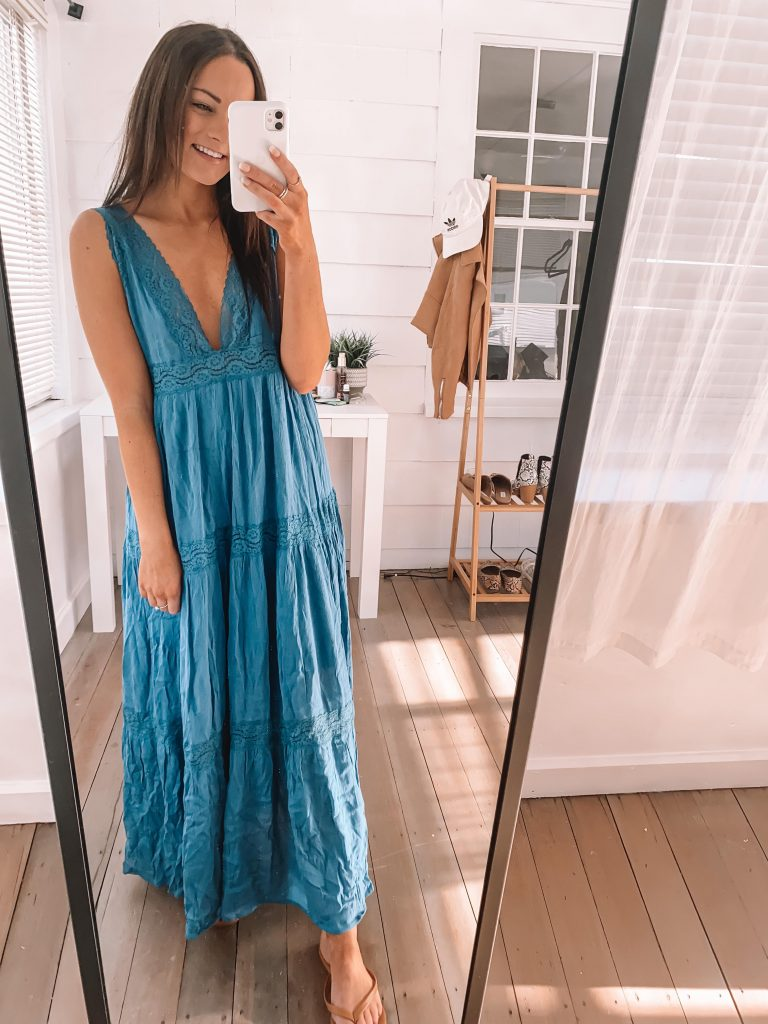 amazon maxi dress outfit spring summer
