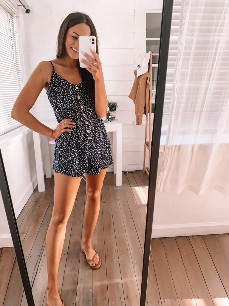 amazon romper spring summer outfit