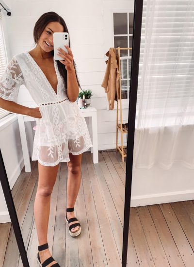Amazon White Dresses, Rompers & Jumpsuits Under $38