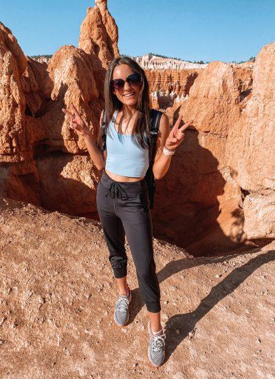 Utah Road Trip Outfits + Packing List